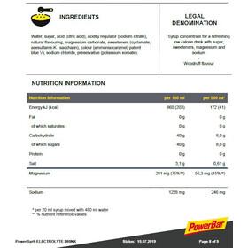 PowerBar Bevanda elettrolitica 1l, Woodruff
